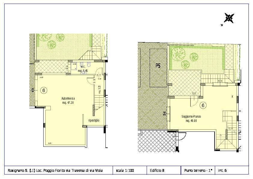 Appartamento in vendita, rif. ROS/12 (Planimetria 6/12)