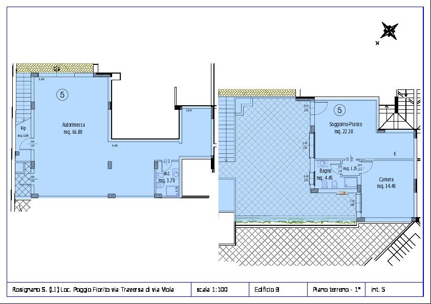 Appartamento in vendita, rif. ROS/12 (Planimetria 5/12)