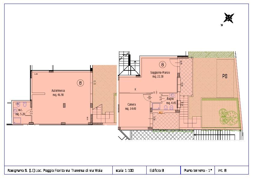 Appartamento in vendita, rif. ROS/12 (Planimetria 8/12)