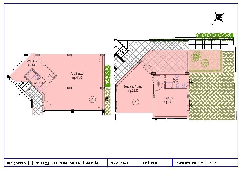 Appartamento in vendita, rif. ROS/12 (Planimetria 4/12)