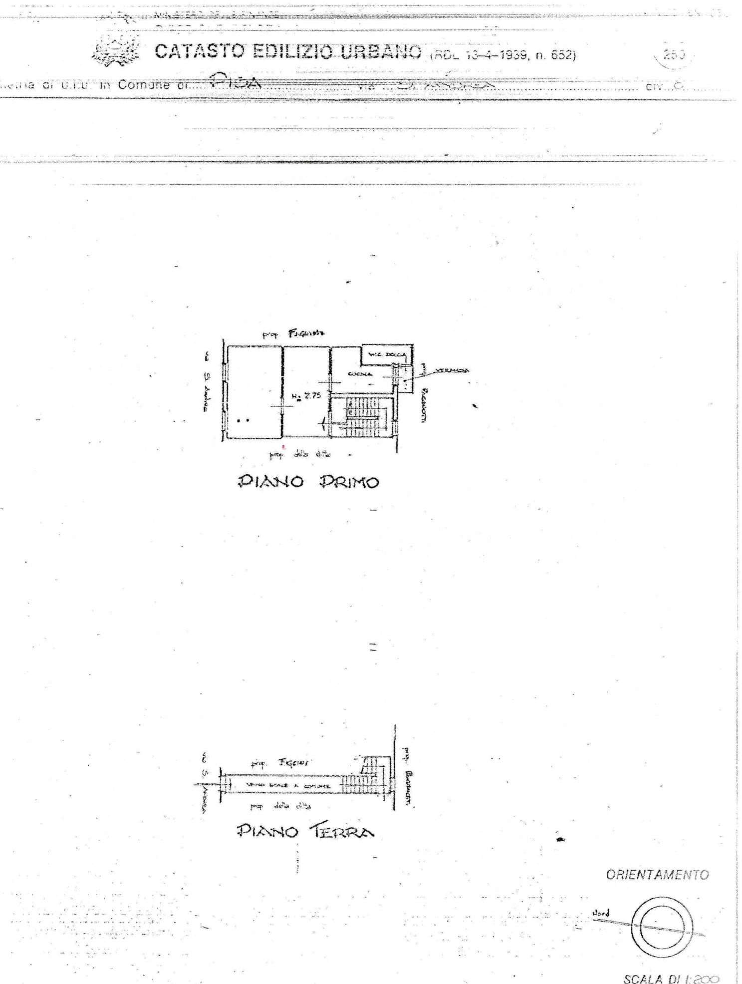 Planimetria 1/1 per rif. AIA104VPI