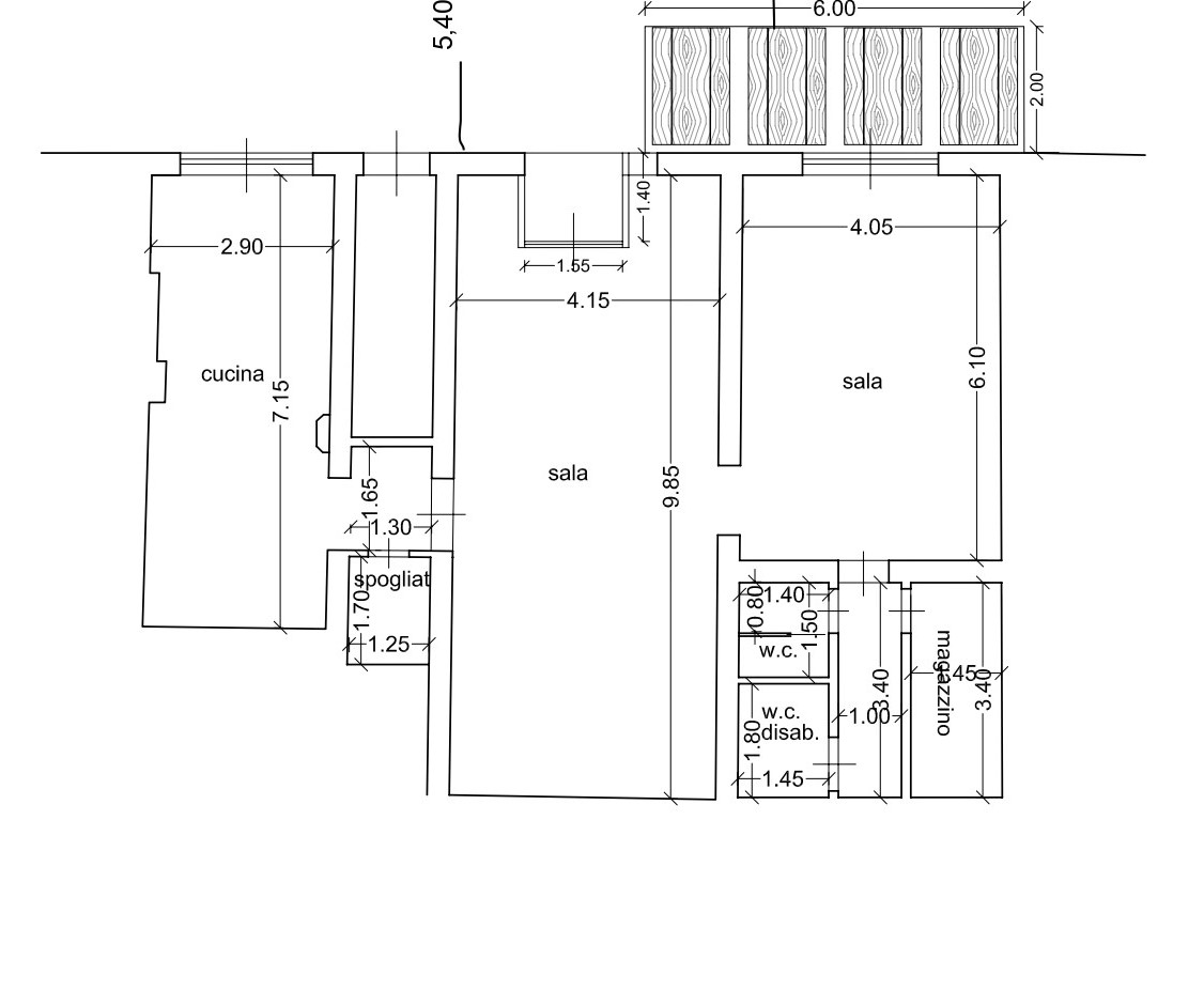 Planimetria 1/1 per rif. AIA104V