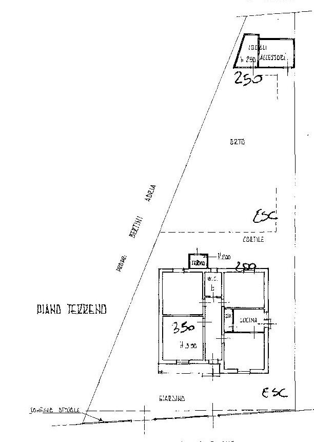 Planimetria 1/1 per rif. P188