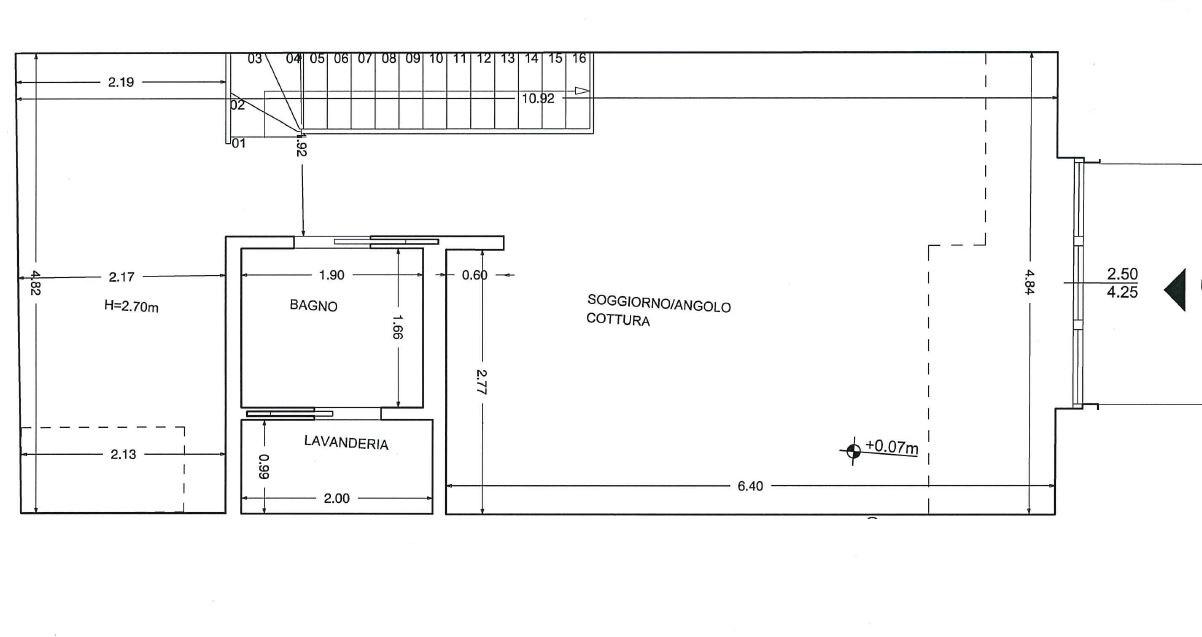 Planimetria 1/2 per rif. P381