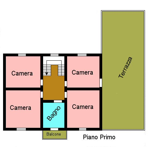 Planimetria 2/2 per rif. P481