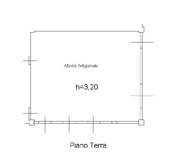 Planimetria 1/1 per rif. F60