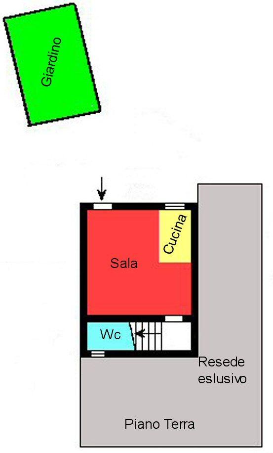 Planimetria 1/3 per rif. P161