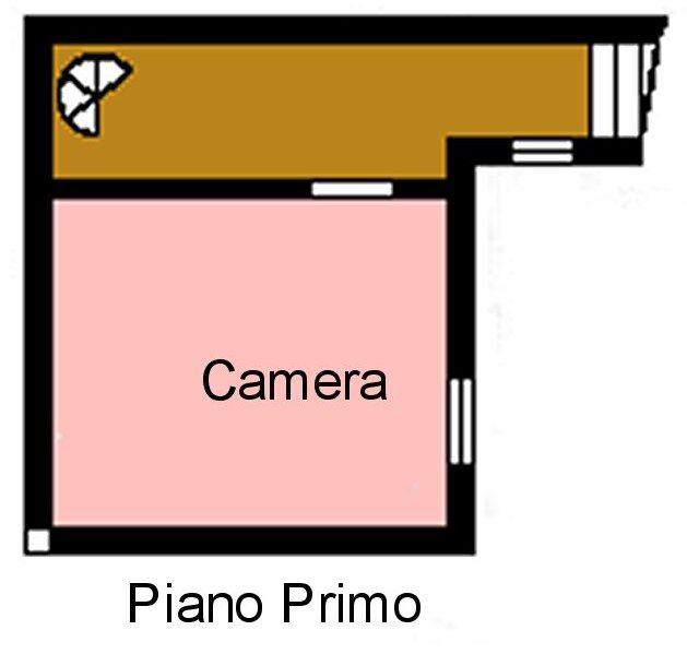 Planimetria 2/3 per rif. P161