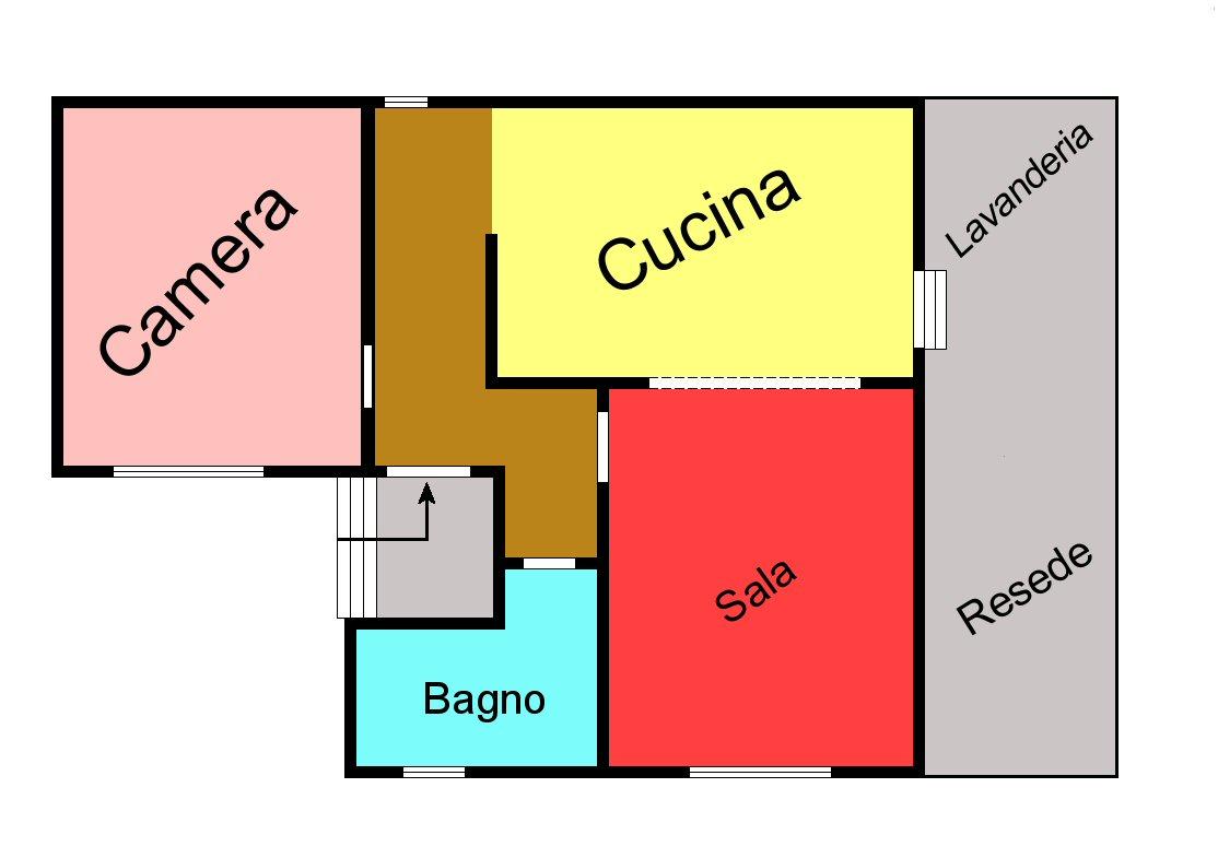 Planimetria 1/1 per rif. P145