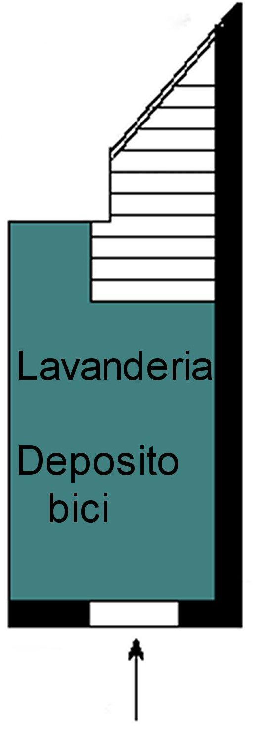 Planimetria 1/3 per rif. P289