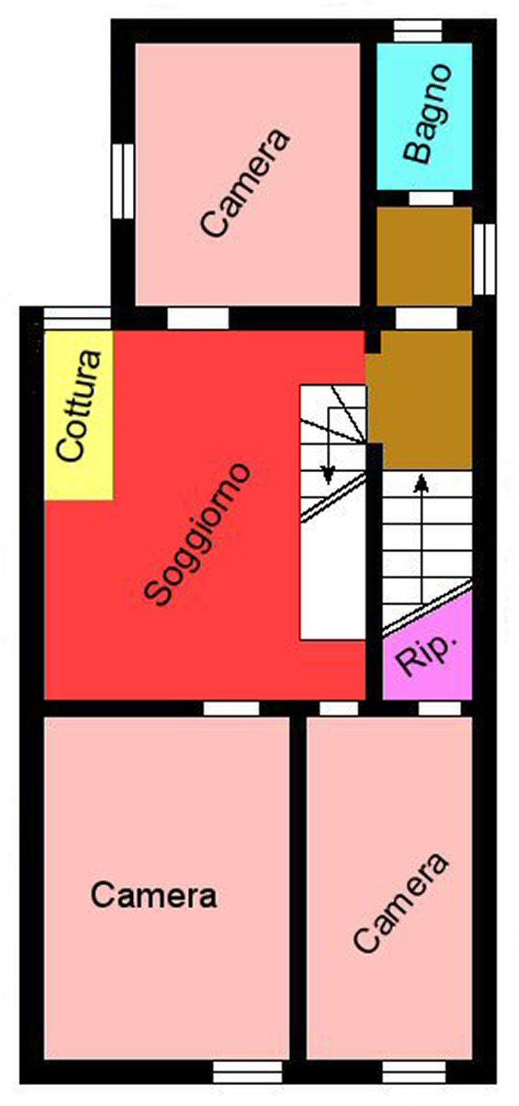 Planimetria 2/3 per rif. P289
