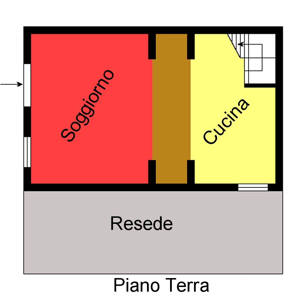 Planimetria 1/2 per rif. P139