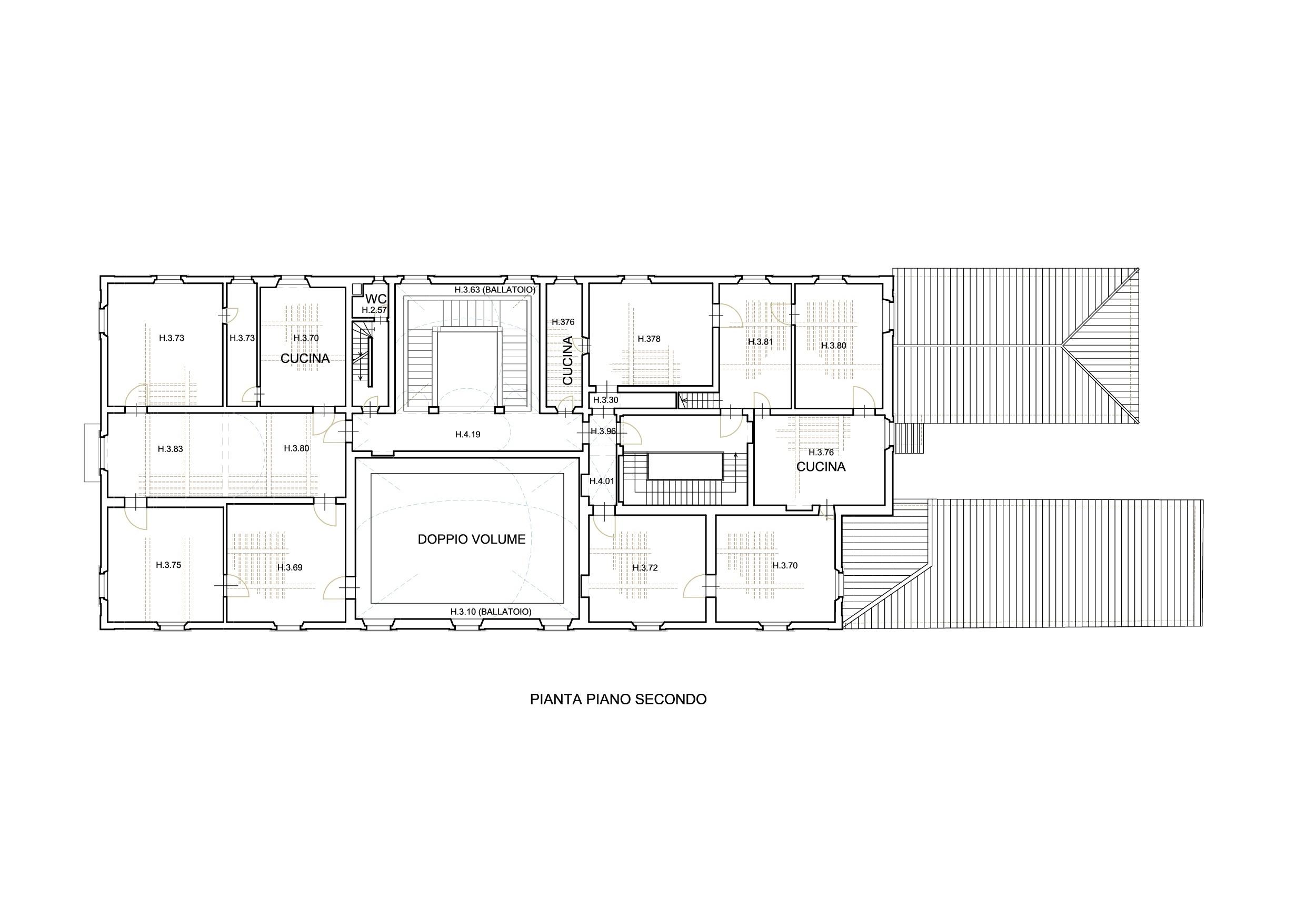 Planimetria 3/4 per rif. M005