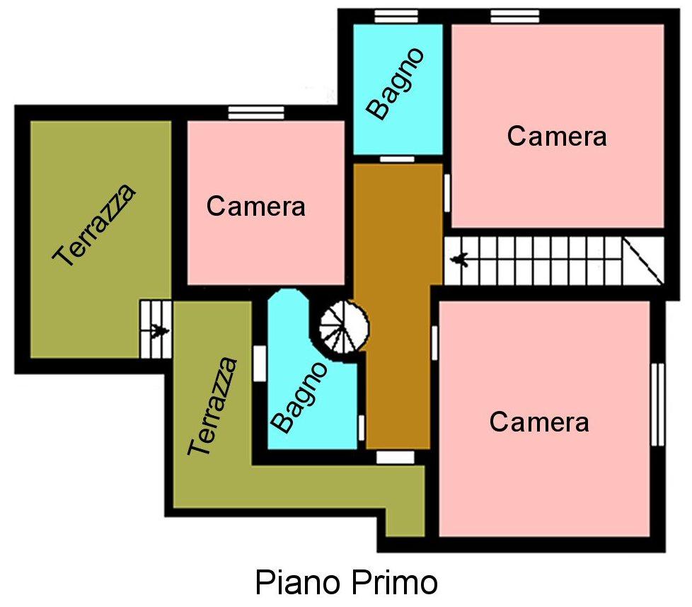 Planimetria 2/3 per rif. S395