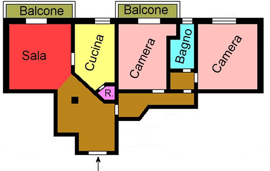 Planimetria 1/1 per rif. s248