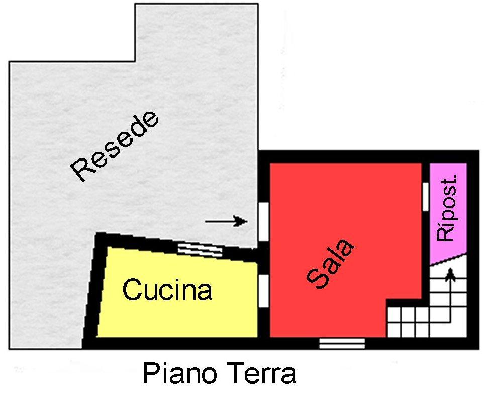 Planimetria 1/2 per rif. S190
