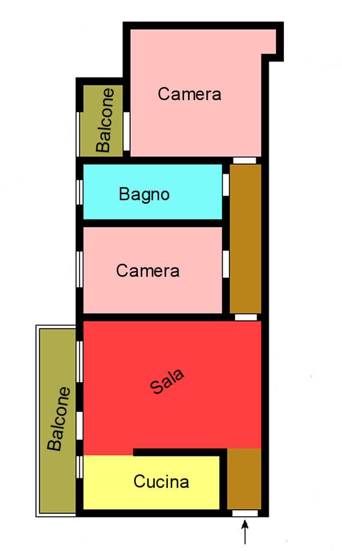 Planimetria 1/1 per rif. G130