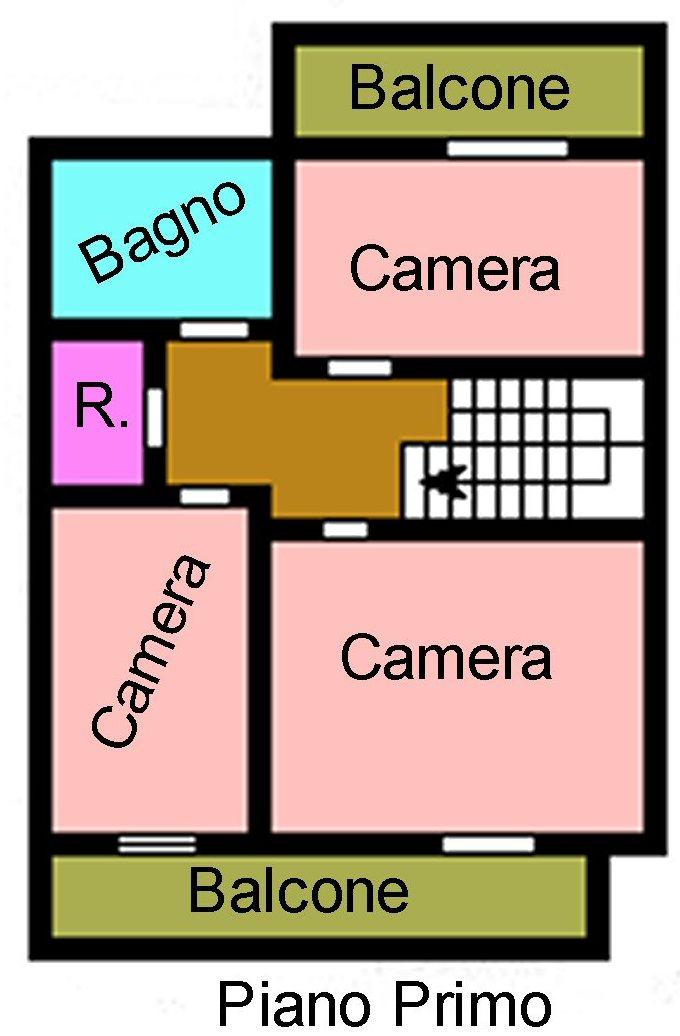 Planimetria 2/3 per rif. P320