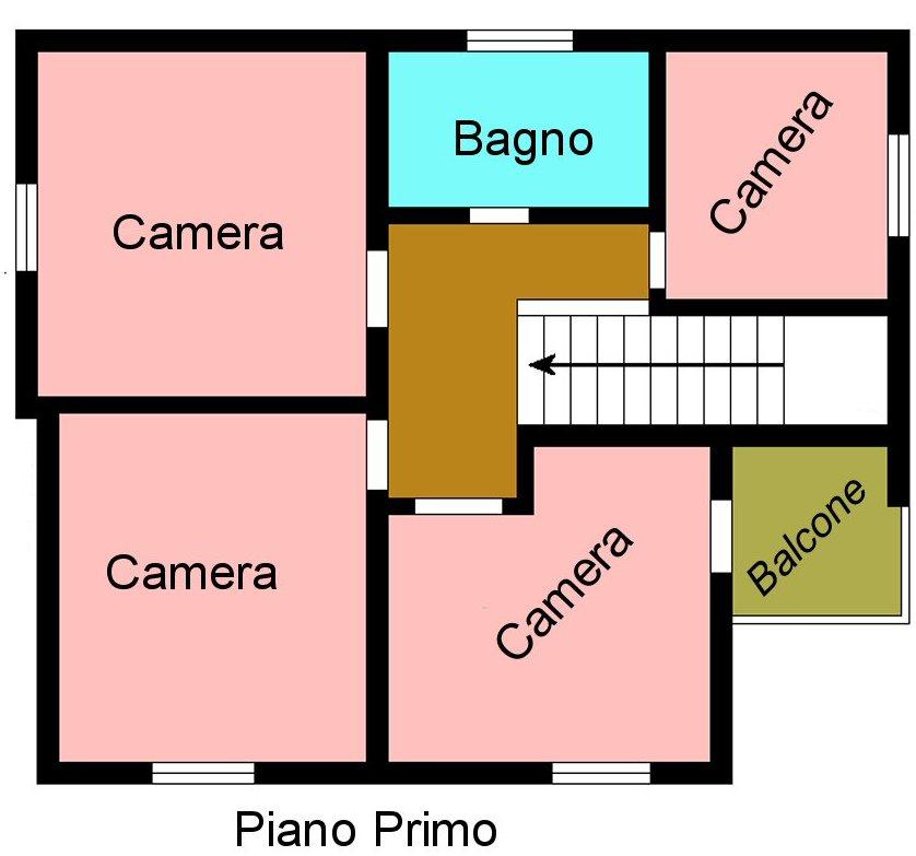 Planimetria 2/3 per rif. G530