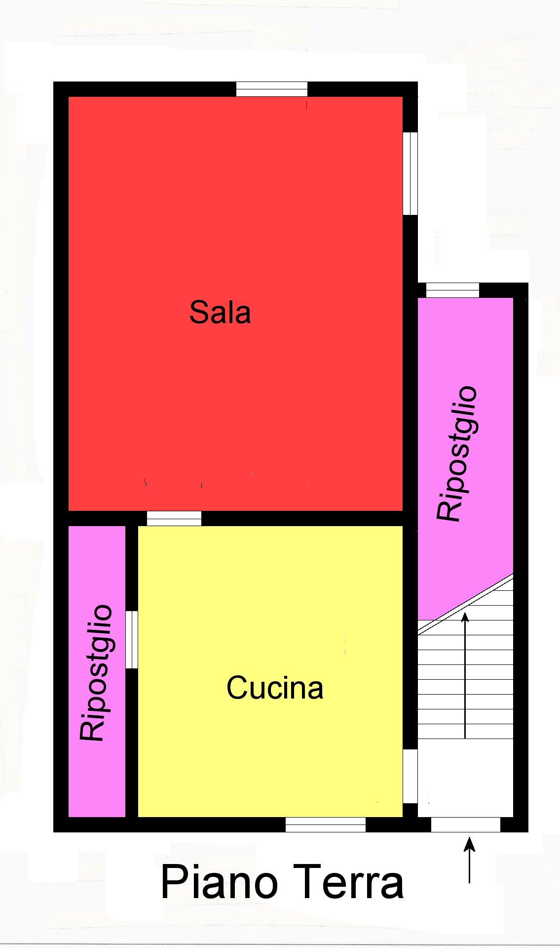 Planimetria 1/2 per rif. G120