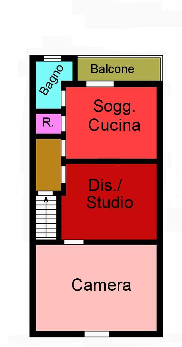 Planimetria 1/1 per rif. G125