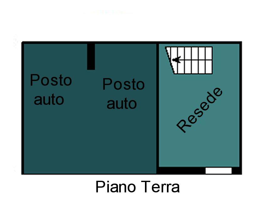Planimetria 1/3 per rif. F165