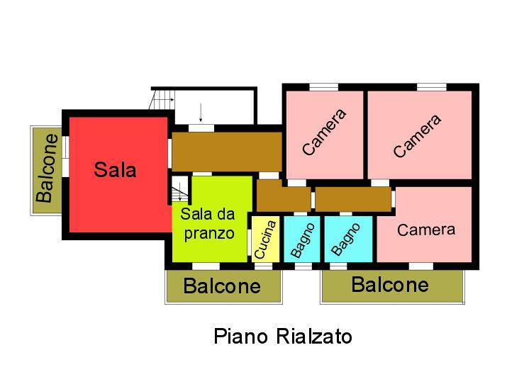 Planimetria 2/2 per rif. F168
