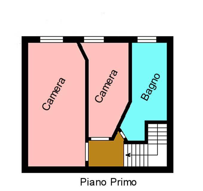 Planimetria 2/2 per rif. F190