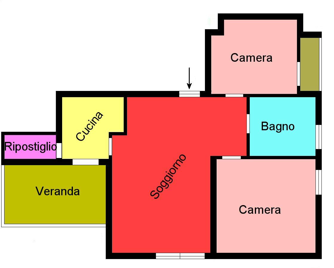 Planimetria 1/1 per rif. F175