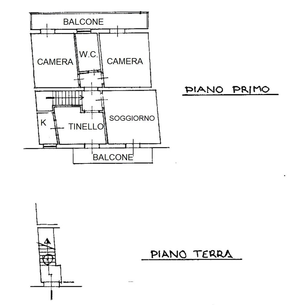 Planimetria 1/1 per rif. G210