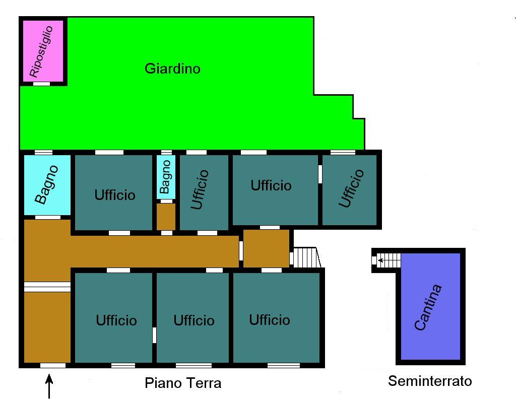 Planimetria 1/1 per rif. F280