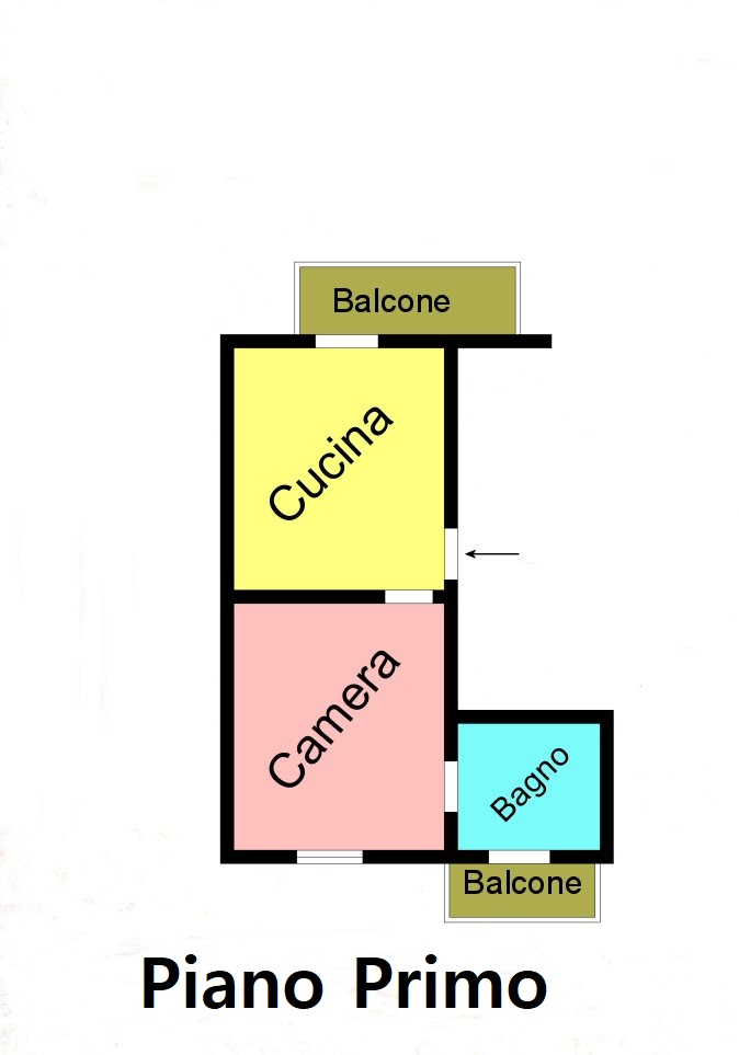 Planimetria 2/2 per rif. F125