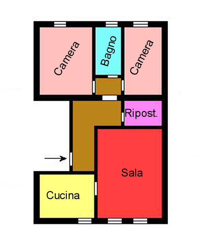 Planimetria 1/1 per rif. M157
