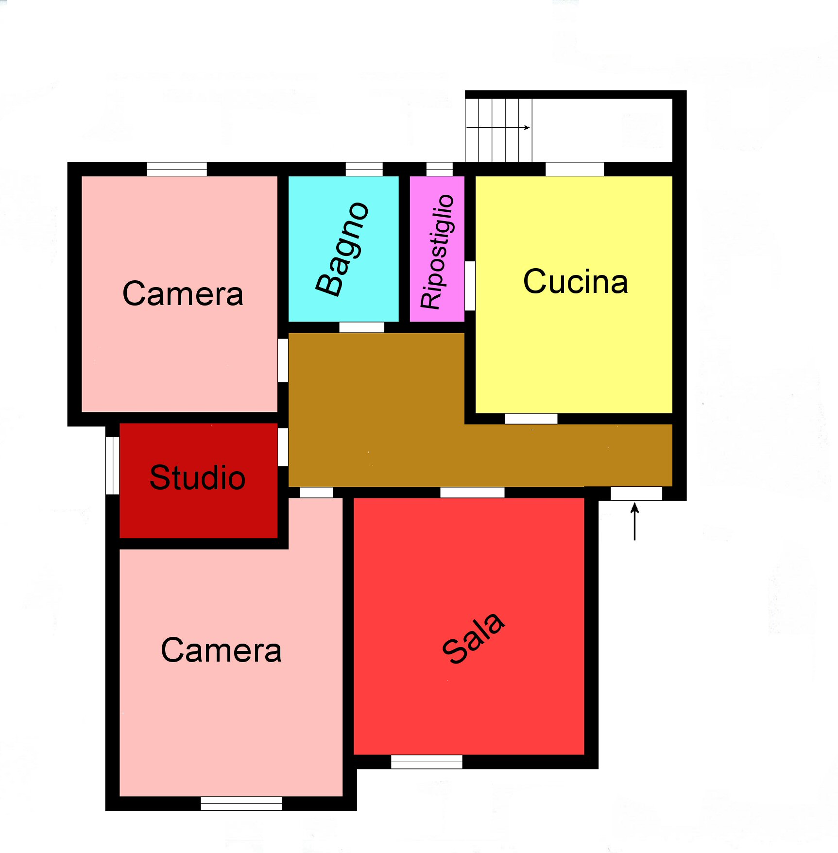 Planimetria 1/1 per rif. L501