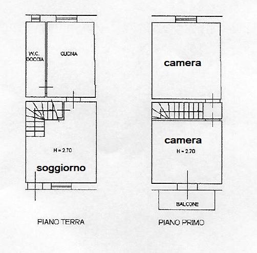 Planimetria 1/1 per rif. L150