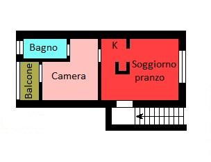 Planimetria 1/1 per rif. G121
