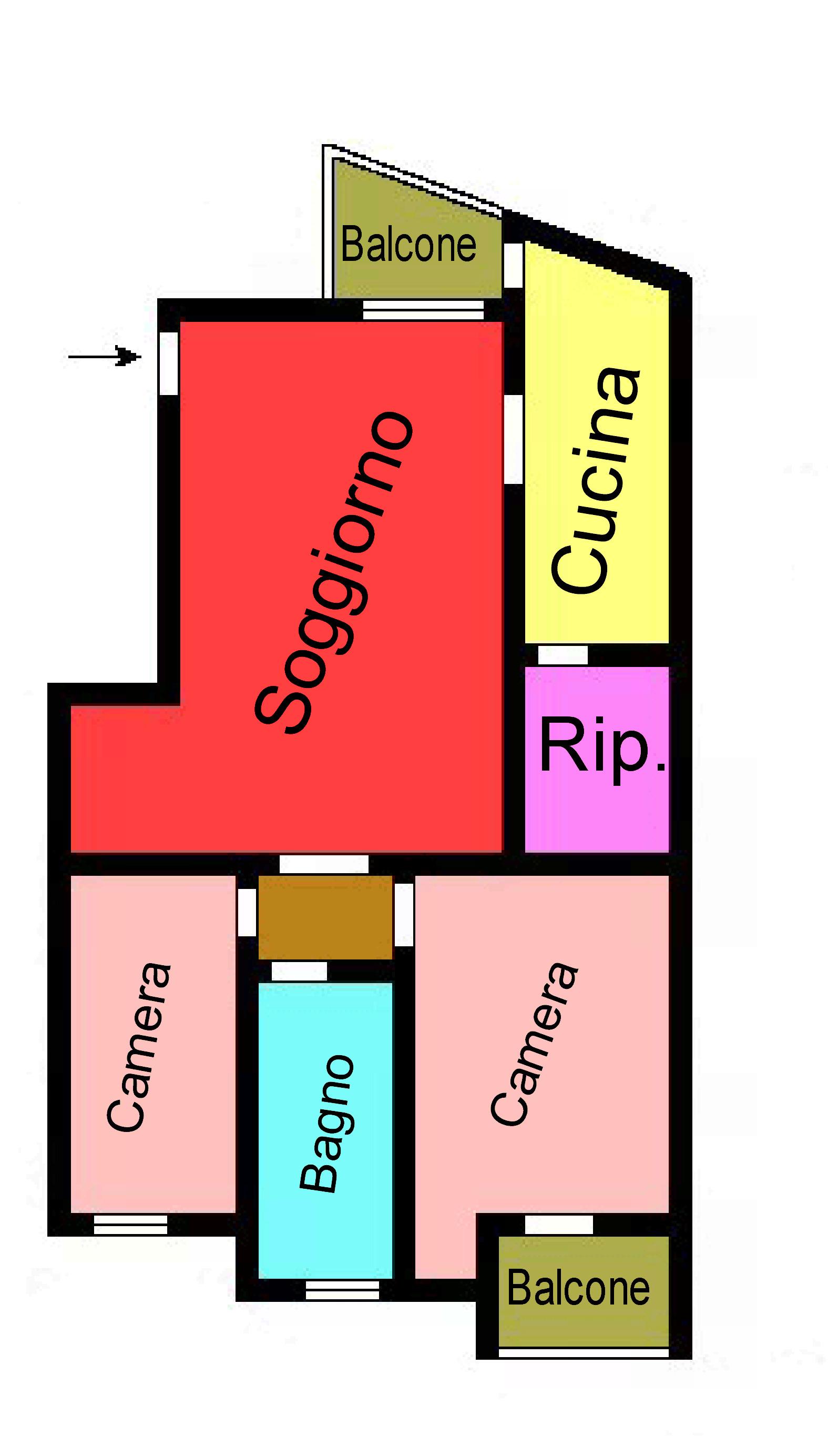 Planimetria 1/1 per rif. l120