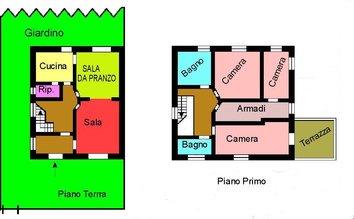 Planimetria 1/1 per rif. M85