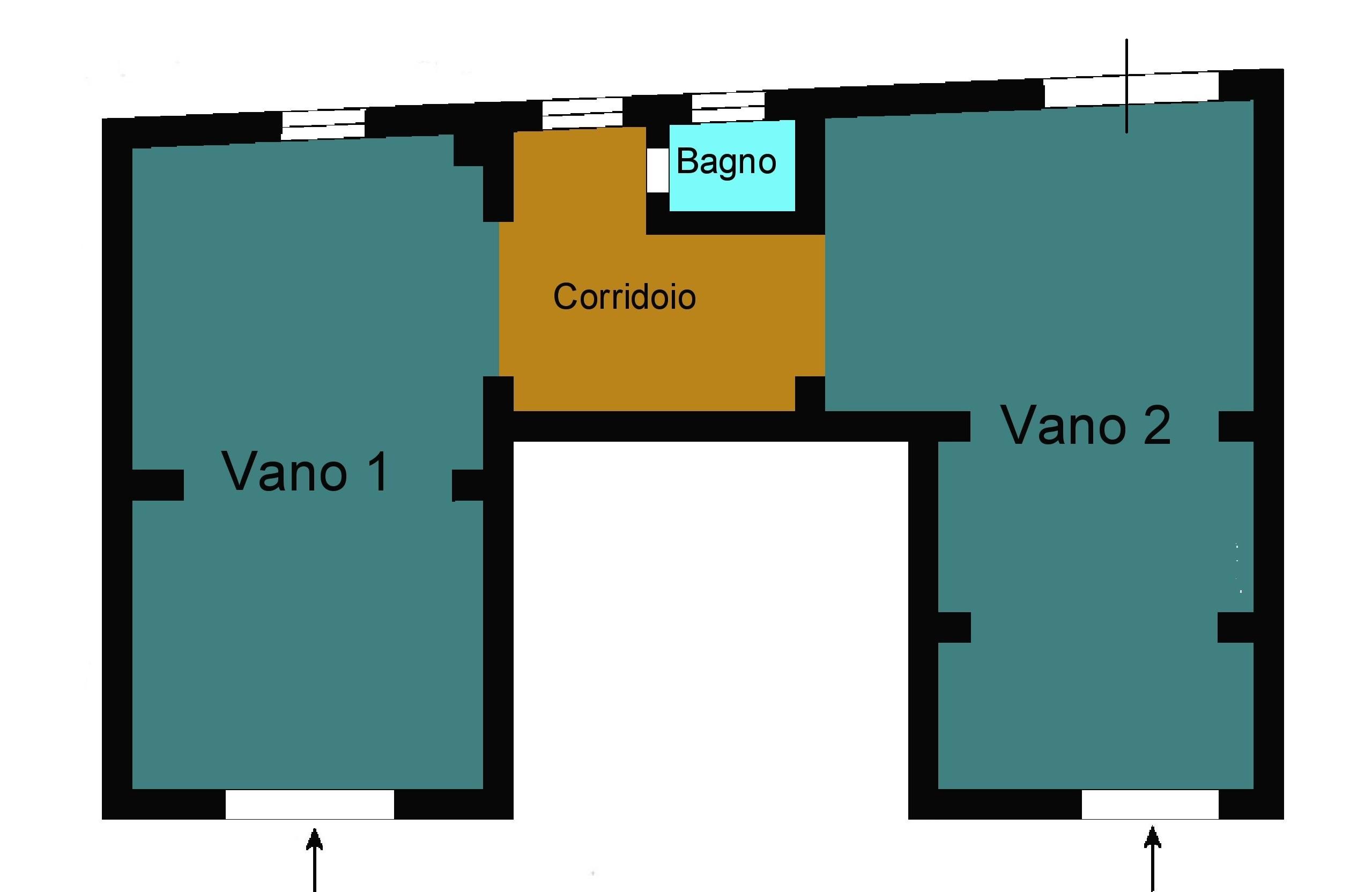 Planimetria 1/1 per rif. G122