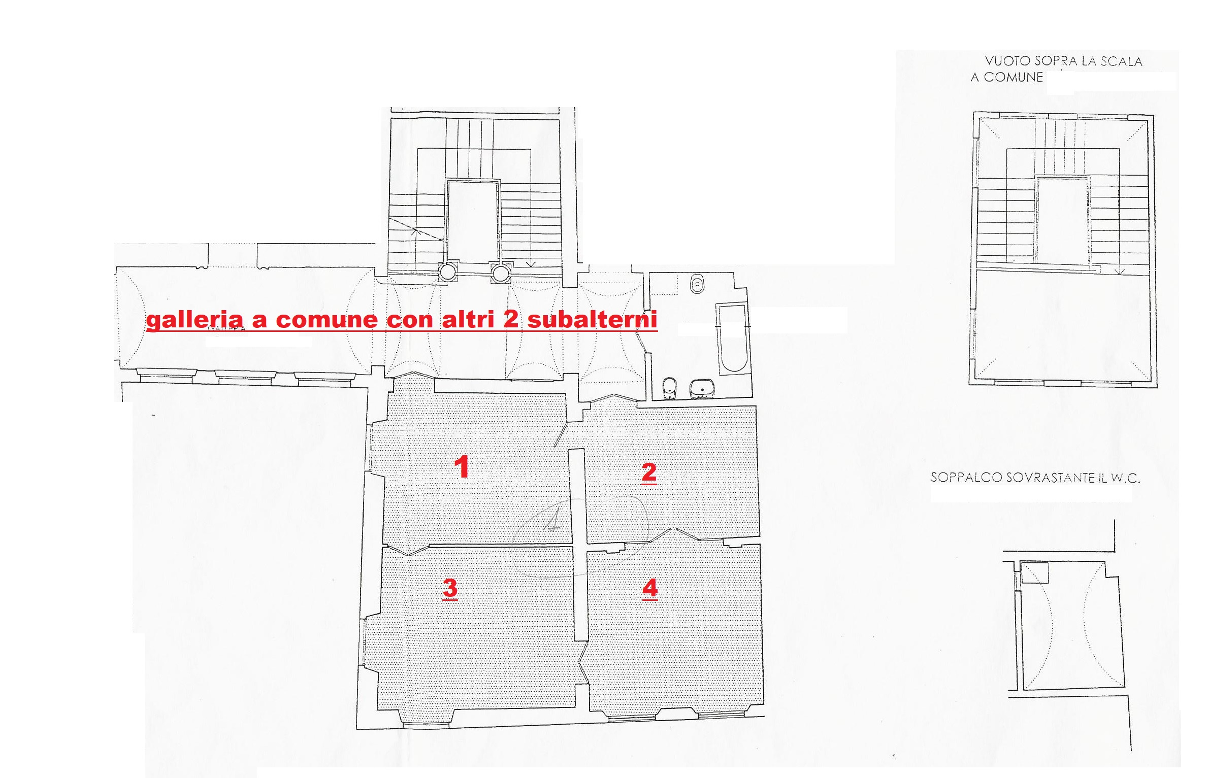 Planimetria 1/1 per rif. M013