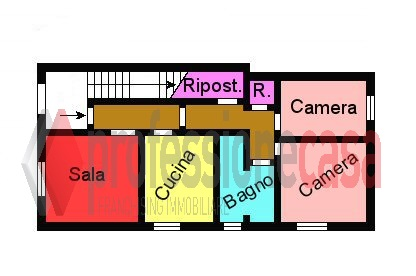 Planimetria 1/1 per rif. L165