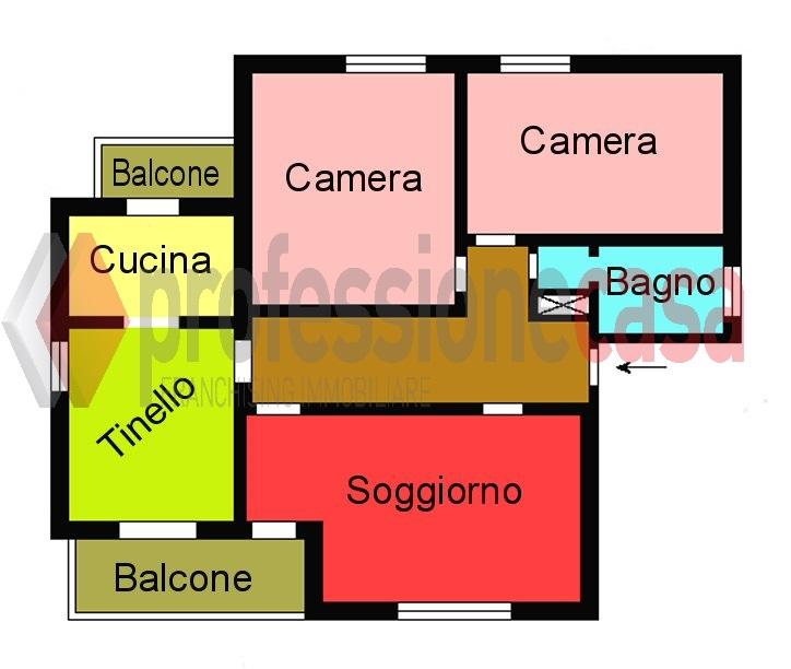 Planimetria 1/1 per rif. L350