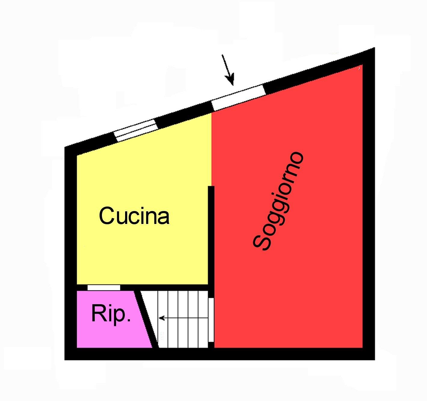 Planimetria 1/2 per rif. G88