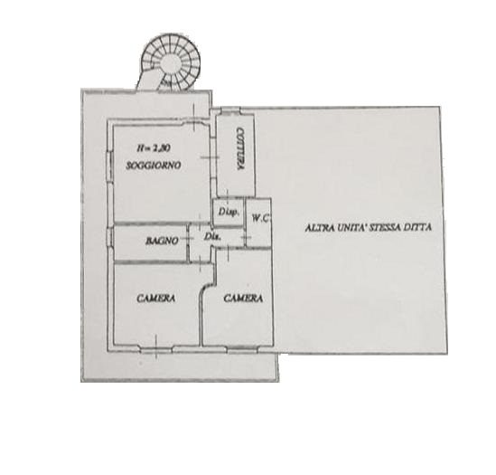 Planimetria 1/1 per rif. S61