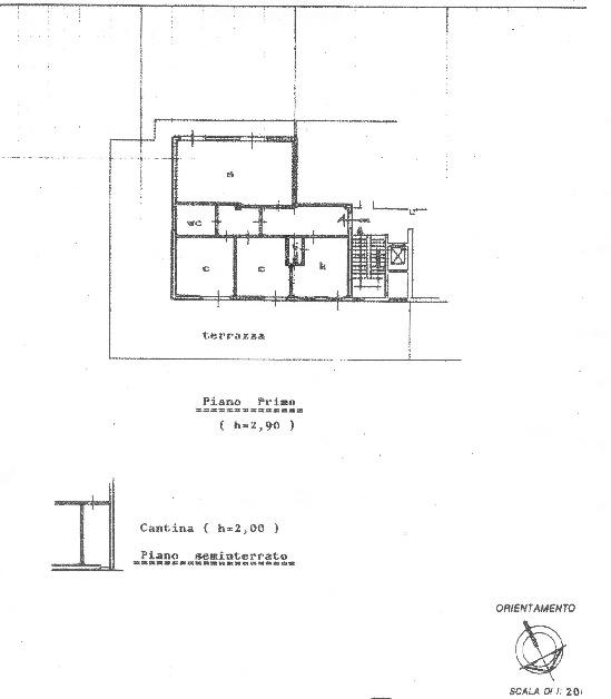 Planimetria 1/1 per rif. 20.43