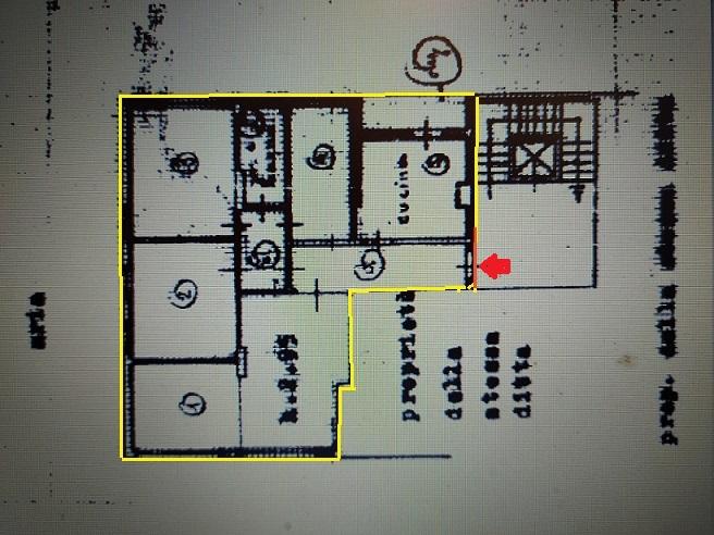 Planimetria 1/2 per rif. 45.25