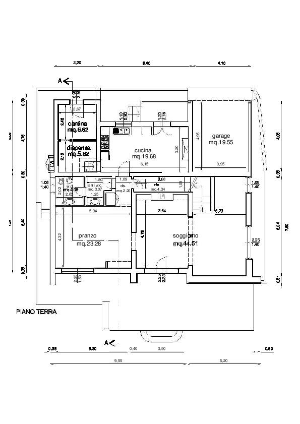 Planimetria 3/3 per rif. VVR30