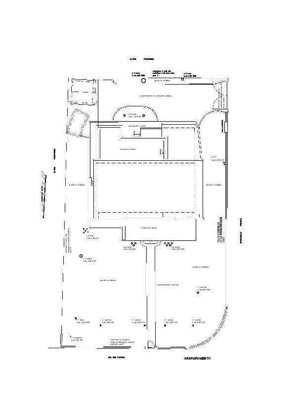 Planimetria 1/3 per rif. VVR30