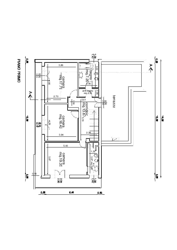 Planimetria 2/3 per rif. VVR30