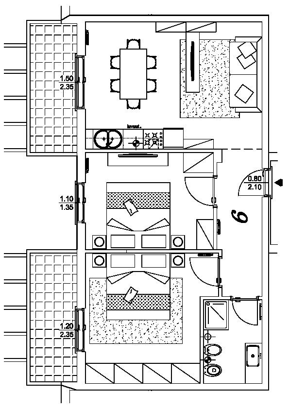 Planimetria 1/1 per rif. VV42